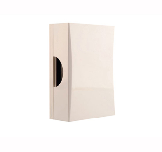 Byron 771 Wired Door Chime in White - White
