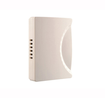 Byron 779 Wired Wall Mounted Chime in White 150mm - White