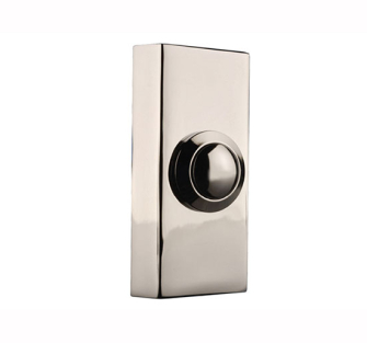 Byron Wired Bell Push Surface Mounted - Chrome