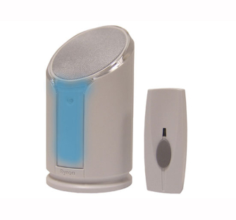 Byron Wirefree Portable Door Chime Kit - Wirefree Chime Kit Light