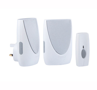 Byron Wirefree portable & plug in door chime kit - Wirefree Chime