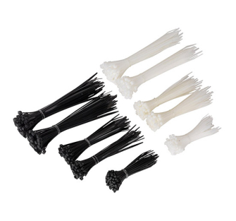 Sealey CT600BW Cable Ties Assorted Black/White Pack of 600