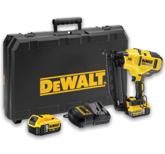 DeWalt DEWDCN660P2 Cordless XR Brushless Second Fix Nailer