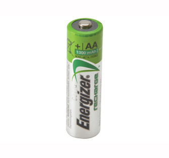 Energizer AA Rechargeable Batteries 1300 mAh Pack of 4 - Recharge