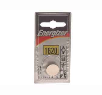 Energizer CR1620 Coin Lithium Battery Single - Replacement Batter