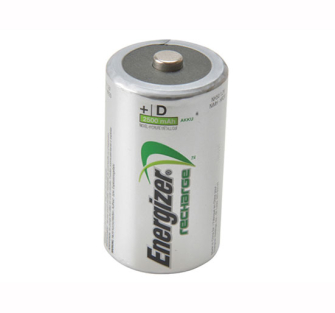 Energizer D Cell Rechargeable Batteries RD2500 mAH Pack of 2 - Re