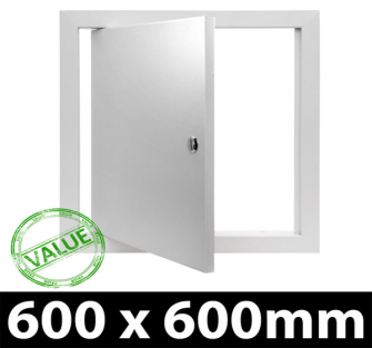 Value Metal Access Panel - Slotted Lock - 600x600mm PF - 5 Panel