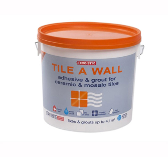 Evo-Stik Tile A Wall Adhesive & Grout for Ceramic & Mosaic Tiles