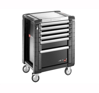 Facom Jet.6GM3 Roller Cabinet 6 Drawer Black - JET.6GM3