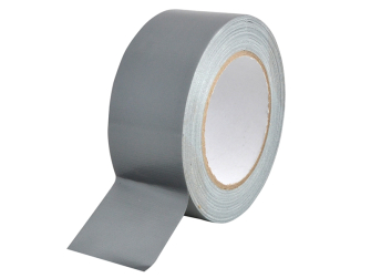 Faithfull Heavy-duty Gaffa Tape 25mm x 50m Silver - Tape Waterpro