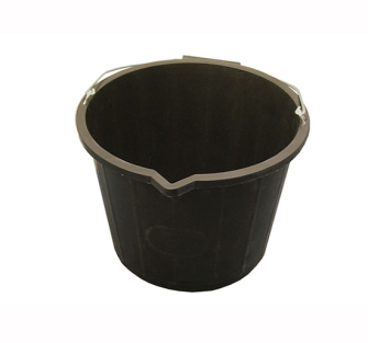 Faithfull 3 Gallon 14 Litre Bucket - Black - Bucket Builder