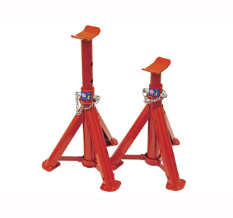 Faithfull Folding Axle Stands 2 Ton (Pair) - Pair of 2 Ton Stands