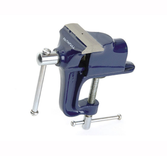 Faithfull Hobby Vice 60mm with integrated Clamp - 60mm