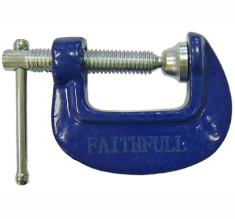Faithfull Hobbyists Clamps - 51mm 2in