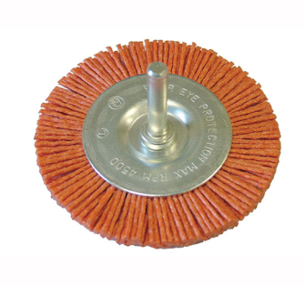Faithfull Nylon Brush Wheels