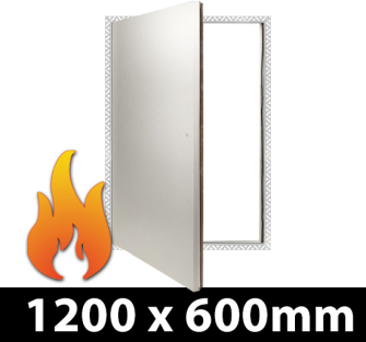 Fire Rated Riser Door Access Panel 1200x600mm BF