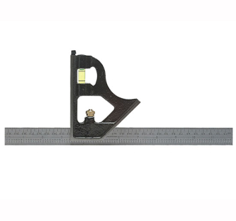 Fisher FB1953ME Combination Square 300mm (12in) - 12in 300mm