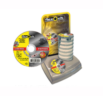 Flexovit Multi Purpose Cutting Disc 230 x 1.9 x 22.23mm - 6625292