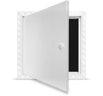 Fire Rated Access Panel - Standard Lock - 200x200mm Beaded Frame