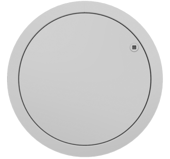 FlipFix Circular Access Panels - 3 Hour Fire Rated Picture Frame - Standard Lock