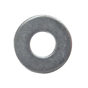 ForgeFix Penny Washers 25mm OD, Zinc Plated - Bags of 10