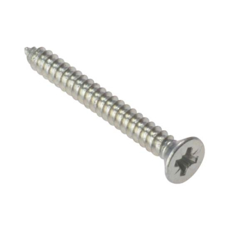 ForgeFix  Self Tapping Screw Pozi CSK Zinc Plated - Boxes of 200
