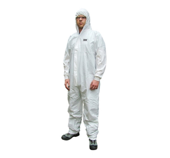 Scan Chemical Splash Resistant Coveralls - White Type 5/6