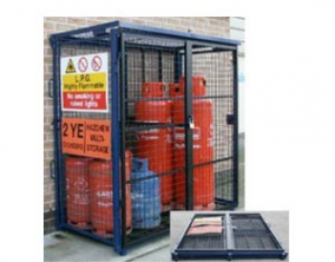 Fold-Away Gas Cage - Van Vault  - S10360