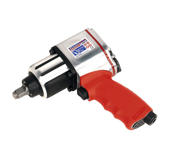 Sealey GSA02 Air Impact Wrench 1/2in Sq Drive Twin Hammer