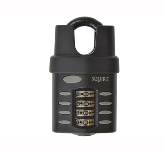 Henry Squire CP40 Push Button Combination Padlock Close Shackle 3