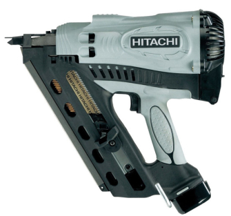 Hitachi NR90GC2 Cordless Gas Clipped Head 1st Fix Framing Nailer