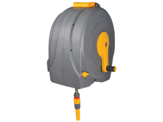 Hozelock Wall Mounted Hose System - Fast Reel 40m - 2496 0000