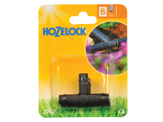 Hozelock T Piece 13mm (2 pack) - Auto Watering