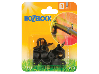 Hozelock Wall Clip 13mm (10 Pack) - Auto Watering