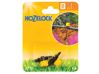 Hozelock Flow Control Valve 4mm (2 Pack) - Auto Watering