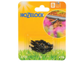 Hozelock Straight Connector 4mm (10 Pack) - Auto Watering