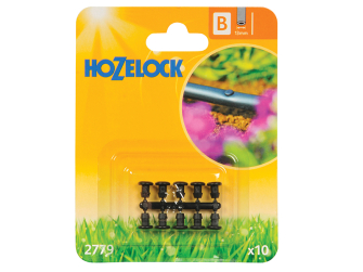 Hozelock Blanking Plug13mm (10 Pack) - Auto Watering