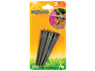 Hozelock 4mm Micro Tube Stakes (10 Pack) - Auto Watering