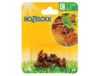 Hozelock In Line Pressure Dripper 4mm (5 Pack) - Auto Watering