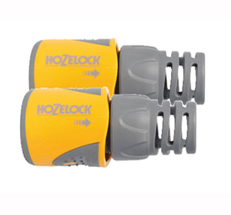 Hozelock 2050 Hose End Connector for 12.5-15 mm (1/2 in & 5/8 in)