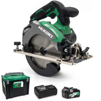 HiKOKI C3606DA-501 MultiVolt Cordless Circular Saw, 165mm - 36V - C3606DA-501