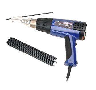 Sealey HS102K Plastic Welding Kit including HS102 Hot Air Gun - H