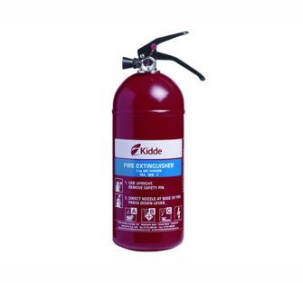 Kidde Multi Purpose 2.0kg ABC Fire Extinguisher - Fire Extinguish