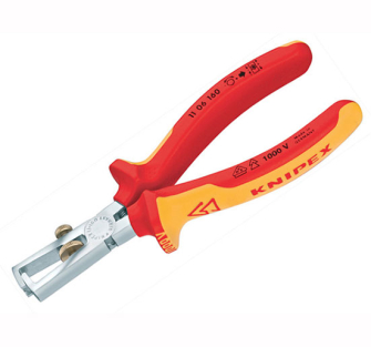 Knipex insulation Wire Stripping Pliers - VDE Grips 160mm