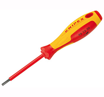 Knipex VDE Screwdrivers For Socket Screws 3.0mm - VDE insulated