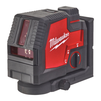 Milwaukee L4CLL-301C USB Rechargeable Green Cross Line & Plumb Points Laser Level