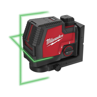 Milwaukee L4CLL-301C USB Rechargeable Green Cross Line Laser Level