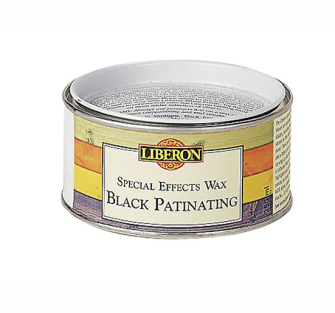 Liberon Patinating Wax Black 250ml - 14706 Wax Patinating