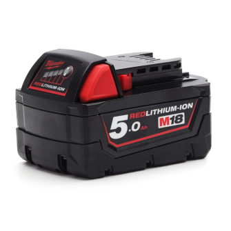 Milwaukee M18B5 Red Lithium-Ion Battery 18 Volt 5.0Ah