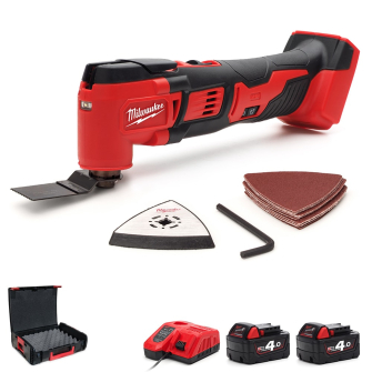 Milwaukee M18BMT-421C Multi-Tool 18v - Upgrade 2 x 4.0ah